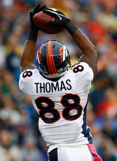All night Long ...Bury the Pats....Demaryius Thomas Denver Broncos | Demaryius Thomas - Denver Broncos v New England Patriots