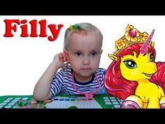 Пакетики с игрушками открываем лошадки Филли / Bags with toys open horse...