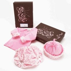 Birth Day Box Layette Gift Set - Pretty Pink Baby Layette $69.95