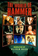THE WORLD OF HAMMER Horror DVD Complete Series OLIVER REED, CHRISTOPHER LEE