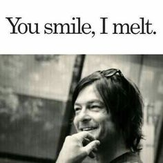 That smile, melts my heart. ❤                                                                                                                                                                                 More