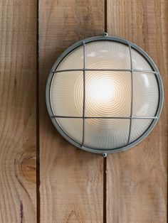 NEW Round Bunker Wall Light - Zinc - Outdoor Lighting - Lighting