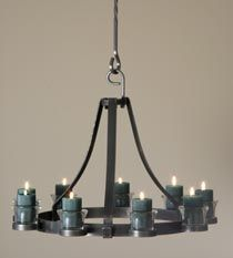 Candle Chandelier Non Electric | Circle of Light Chandelier