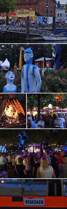 Das Festival Maritim in Bremen Vegesack - Seamusic und Seafood
