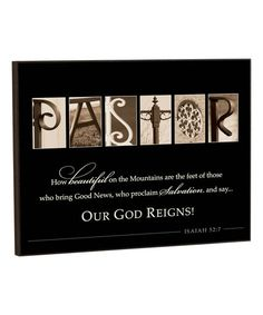 Featuring a Bible verse and monochromatic pictures, this wall art enlivens your family room with artistry and devotion.