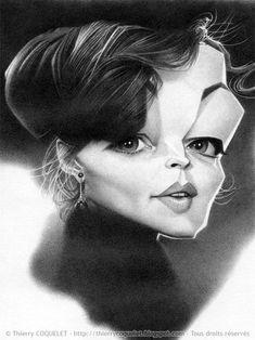 Actress, Romy Schneider by Thierry Coquelet