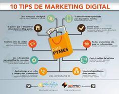 10 tips de Marketing Digital. AMAP.