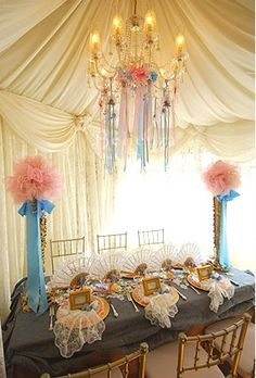 Marie Antoinette Party Decorations | Marie Antoinette Wedding / Party Planning Guide | What Would Marie ...