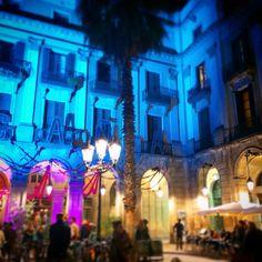Funeral festejo en honor de Alejandro Molina, banda de música, mariachis la Plaza Real de Barcelona, Nazario sus amigos, las palmeras, la noche y la luna. 10-11-2014 ©GloriaGiménez #GloriaGiménez #fotógrafa #photo #photography