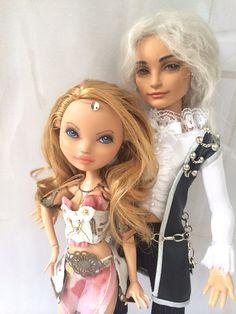 Ever After Monster High boy Hunter Doll repaint custom by shemaeva