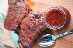 Recette facile de marinade pour le steak Barbecue Recipes, Steak Recipes, Grilling Recipes, Cooking Recipes, Marinade Sauce, Good Food, Food And Drink, Nutrition, Steaks