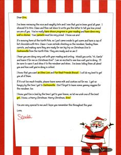 write santa letters | See the small card with the code on it? The seller printed that out ...