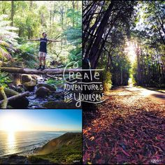 Create adventures for yourself #daytrip #greatoceanroad #view #scenic #sunset #summer #aussie #australia #erskinefalls #lorne #capeotway #artistic #photoshoot #oceanview #travel #eyecandy #world @jaxxxart by jaxxxart http://ift.tt/1IIGiLS