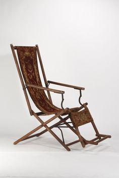 Werksentwurf Firma Ulrich, Deck Chair (um 1890)