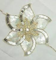 Resultado de imagem para Broderie de paillettes et de perles