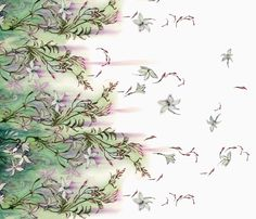 Jasmine fabric by puimun on Spoonflower - custom fabric