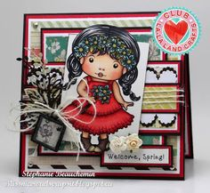 La-La Land Crafts Inspiration and Tutorial Blog: Club La-La Land Crafts APRIL 2015 Showcase - Week 4