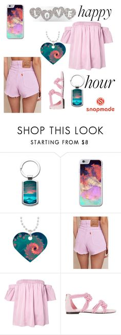 """Snapmade"" by emina-ahmetovic ❤ liked on Polyvore featuring Urban Renewal, Milly and Maison Ernest"