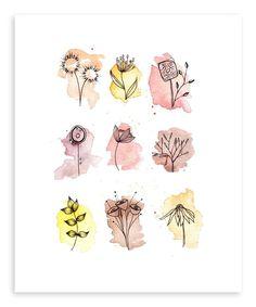 Dibujos De Lobos, Dibujos Blanco Y Negro, Harry Potter Dibujos, Dibujos Para Dibujar, Dibujos De Caras, Dibujos De Perros, Dibujos De Corazones, Dibujos De Rosas, Dibujos De Manos, Dibujos Infantilesi, Dibujos De Navidad. #dibujostiernos #dibujoslindos #dibujostristes #dibujosbonitos Kunstjournal Inspiration, Sketchbook Inspiration, Art Sketchbook, Watercolor Print, Watercolor Paintings, Digital Paintings, Sunflower Drawing, Dandelion Drawing, Poster Design