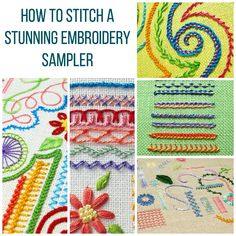 In this article on Craftsy, I discuss tips for creating embroidery stitch samplers