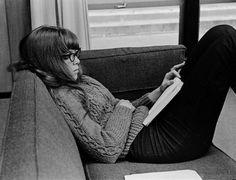 Stevenson College: student studying, 1966 Steve Rees | via UC Santa Cruz Digital Collections