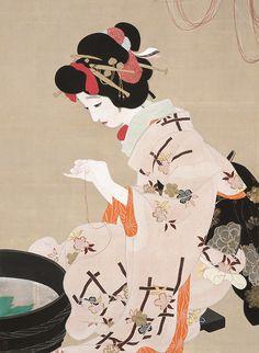 展覧会「北野恒富展」大阪で開催 - 大阪の女性を描き続けた画家の約190作品やスケッチブックなど   ファッションプレス
