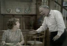 "archie bunker  ""I'm gonna give you just 30 seconds, now CHANGE""...."