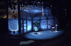 Halcyon Days. Tall Tales at Smock Alley Theatre. Scenic design by Maree Kearns. Lighting by Kevin Smith.