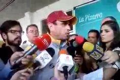 Capriles Los CLAP representan la nueva estafa del Gobierno - El Universal (Venezuela)