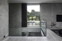Villa is a single-family nordic house designed by Danish studio ARDESS. The house is located in Risskov, Denmark and has a area of 372 sqm Scandinavian Architecture, Scandinavian Design, Interior Architecture, Interior And Exterior, Concrete Architecture, Nordic Design, Interior Design, Contemporary Architecture, Villa