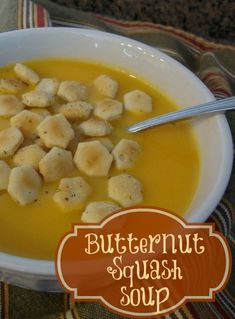 Mom's Butternut Squash Soup