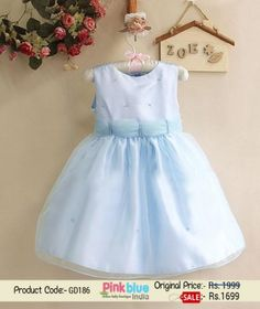 Designer Baby Net Wedding Dress - Princess Birthday Outfits Baby ...