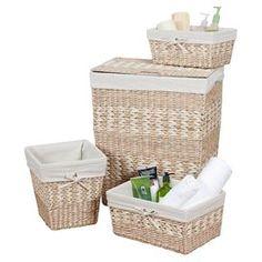 4-Piece Arcadia Basket & Hamper Set