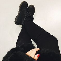 All Black Timberland