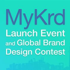 Interested in a $ 10,000.00 CASH PRIZE? The MyKrd Global Brand Design Contest is open to graphic design professional, students and amateurs! Participation is FREE. Check out our website for more info!