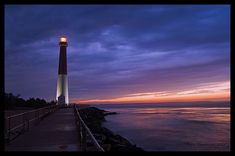 barnegat lighthouse, northern tip of long beach island, jersey shore