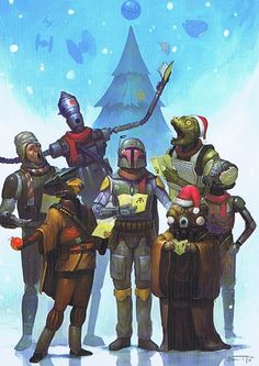 the star wars collectors archive is virtual museum of star wars memorabilia from collectors around the world - Virtual Christmas Cards
