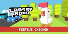 Crossy Roads Festive Chicken