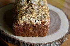 vegan pineapple, coconut, banana bread. by joy the baker; it has to be good. and it's hunter friendly.