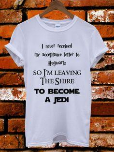 Harry Potter Hogwarts Jedi Star Wars LOTR Men Women Unisex T Shirt Tank Top Vest   eBay
