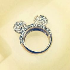 Cute micky mouse ring