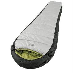 The Coleman® Signature Outdoor Gear™ sleeping bag is packed with 56 ounces of high-loft, hollow-core Coletherm® insulation, keeping you comfortable down to 0°F! It utilizes a double-batt, offset quilt construction to eliminate potential cold spots, while the semi-sculpted hood surrounds your head with warmth. The box foot design gives your feet extra wiggle room. Features: - Insulation:Coletherm® Insulation - Construction:Two-Layer, Offset Quilt