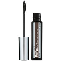 Give your brow that three-dimensional WOW effect Volumizing Eyebrow Gel delivers full and colored brows in a few easy strokes Maybelline's fiber-infused gel formula adds volume and color for an instant brow boost The tapered spoon brush delivers precise application from corner to corner