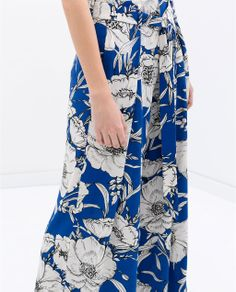 PRINTED TROUSERS from Zara