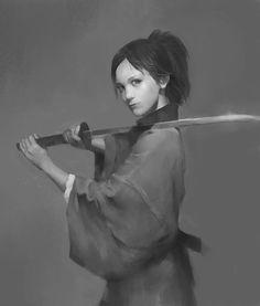 Female warrior, Winona milla on ArtStation at https://www.artstation.com/artwork/female-warrior-5a3236b5-3785-48f7-89a8-ca3306f8b4d9