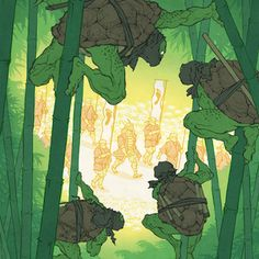 Jed Henry - Trouble Afoot (TMNT) – Outré Gallery
