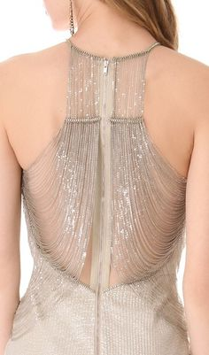 Gorgeous beaded back - but how the F you wash it.