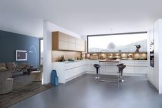 Classic-FS | Topos | Concrete-C - Fitted kitchens by Leicht Küchen AG | Architonic