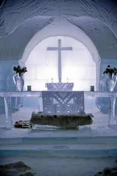 ice chapel By Claus Jørstad