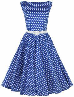 Lindy Bop Rockabilly Kleid 50er Jahre Audrey Hepburn,Pinup Tea Kleid. (40, Blau) Lindy Bop,http://www.amazon.de/dp/B00DEK08SM/ref=cm_sw_r_pi_dp_Nf5Htb15C1YBTY57